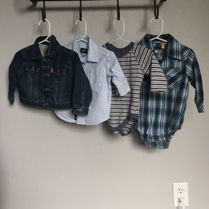 EUC Levi's Boys Jacket and Adorable Clothing Set